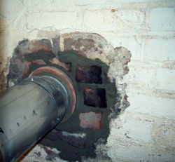 Brick and mortar repairs
