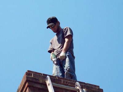 Cougots chimney technician